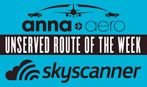 sky scanner six more city pairs adopted by skyscanner unserved route of the week