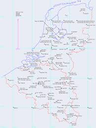 Map Of The Netherlands Impressum