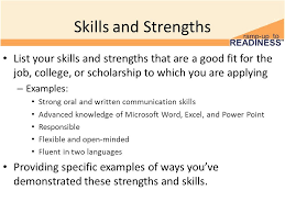 Special Skills On A Resume Ten Skills To Put On A Resume