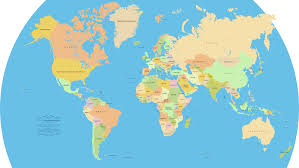 world map political with country names free vector world map a free accurate world map in vector format