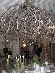 branch chandelier 30 sculptural diy tree branch chandeliers to realize in an