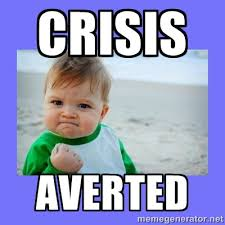 Baby Fist Meme - crisis averted baby fist meme generator quotes pinterest