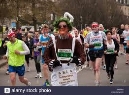 Oompa Loompa Costume Competitor Running In An U0027oompa Loompa U0027 Costume In The Annual Bath