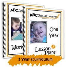 abcjesuslovesme 1 year curriculum week 1 abc jesus loves me