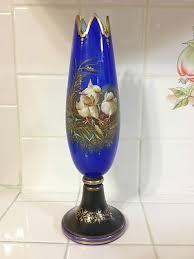 Antique Cobalt Blue Vases 395 Best Bohemian Glassware Images On Pinterest Antique Glass