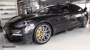 porsche panamera interior 2018 inside the new porsche panamera turbo s 2018 start up in depth