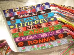 bracelet friendship name images Symbols friendship bracelets jpg