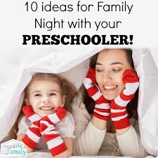 ideas for family with your preschooler