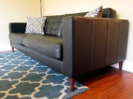Mid Century Modern Sofa Legs by Replacement Legs For The Karlstad Leather Sofa Home Pinspiration