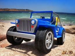 jeep beach 3d printed beach jeep by mao pinshape