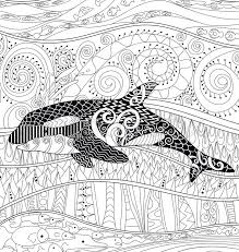 whale coloring page under the sea coloring pages for adults