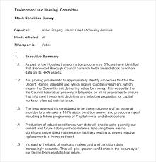 12 survey report templates u2013 free sample example format