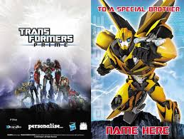 transformers birthday personalised transformers birthday card any relation