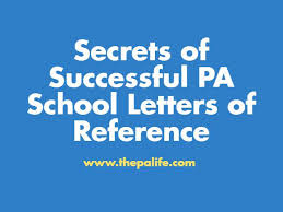 What Is A Physicians Desk Reference Secrets Of Successful Pa Letters Of Recommendation The