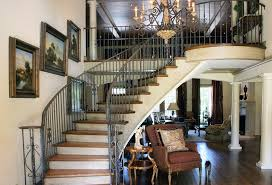 iron railing designs with curved staircase dark wood stairs