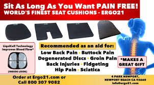 Seat Cushion For Sciatica Ergo21 Sports Cushion Voted Top 10 Wheelchair Cushion By Wiki