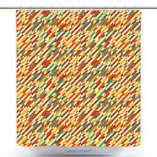Graphic Shower Curtains by Us 29 86 Polyester Shower Curtain Abstract Modern Design