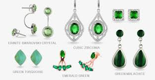 different types of earrings how to wear green earrings boccai