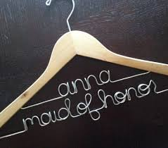 personalized hangers personalized hangers for bridesmaids
