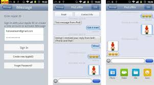 imessage apk imessage chat app shows up for android isn t pretty don t trust