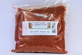 composition du sel de cuisine acheter pas cher du sel au paprika ou piment fumé au bois de hètre