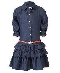 guess kids dress little girls tiered denim dress dresses kids