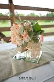 jar center pieces jar centerpiece diy rustic wedding styled pink