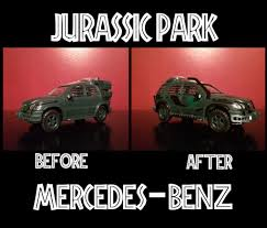 the lost world jurassic park the lost world jurassic park mercedes benz model by