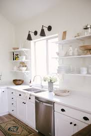 how to accessorize a grey and white kitchen how to minimalist kitchen styling studio mcgee