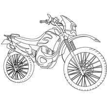 motorcycle coloring pages 11 coloring kids