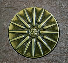 sun of vergina the ancient symbol with sixteen rays