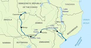 Congo River Map River