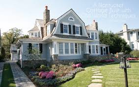 nantucket shingle style home plans adhome