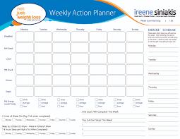 weight loss planner template understanding your macronutrients ireene siniakis meal plan template