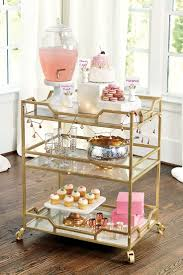 Gold Home Decor Accessories Best 25 Gold Bar Cart Ideas On Pinterest Bar Cart Essentials