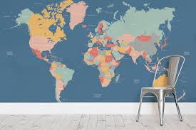 map mural navigator map wall mural milexa