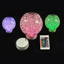 Led Vase Base Light Aliexpress Com Buy 48pcs Lot Battery Operated Rgb Led Vase Base