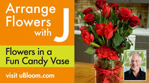 Candy Vases Centerpieces How To Make An Arrangement In A Candy Filled Vase Youtube