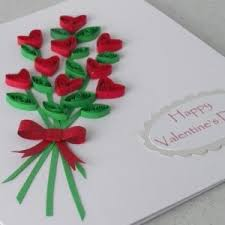 valentines card ideas fall in with quilling