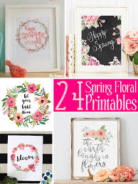 24 spring floral printables the scrap shoppe