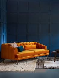 Living Room With Orange Sofa Orange Sofa Orange Sofa Design Would Be A Great
