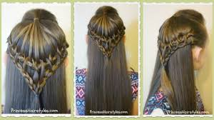 umbrella lace hairstyle video tutorial princess hairstyles