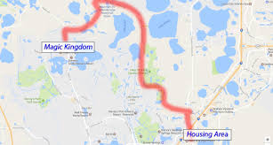 Port Orleans Riverside Map Driving At Walt Disney World Disney College Program Tips Dcpdcp
