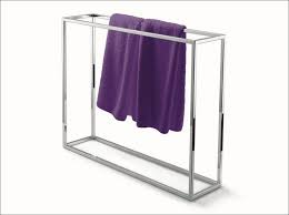 Floor Towel Racks For Bathrooms by Bathroom Free Standing Floor Towel Rack Narrow Towel Rack Stand
