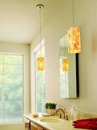 pendant light over cool bathroom pendant lighting bathrooms