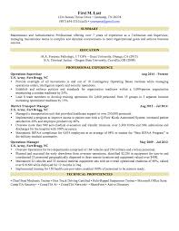 Infantry Resume Examples by Military Skills Translator For Resume Free Resume Example And