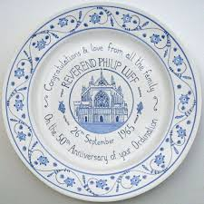 celebration plates painted personalised celebration plate by carlo briscoe
