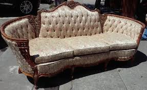 French Provincial Sofa by Uhuru Furniture U0026 Collectibles Sold Deutsch Eck French Provincial