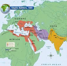 Map Of Ottoman Empire 1500 1683 Yılındaki Imparatorluklar Türk Tarihi Ve Belgeler
