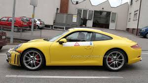 porsche carrera 2012 2012 porsche 911 spied virtually undisguised